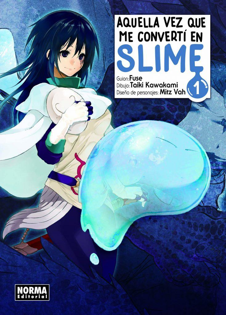 AQUELLA VEZ QUE ME CONVERTÍ EN SLIME (Tensei Shitara Slime Datta Ken)