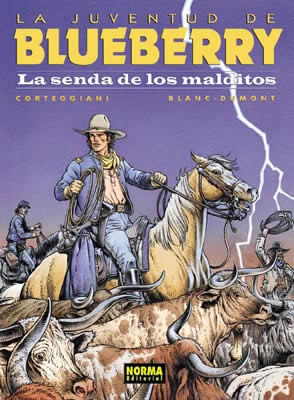 BLUEBERRY 40. LA SENDA DE LOS MALDITOS