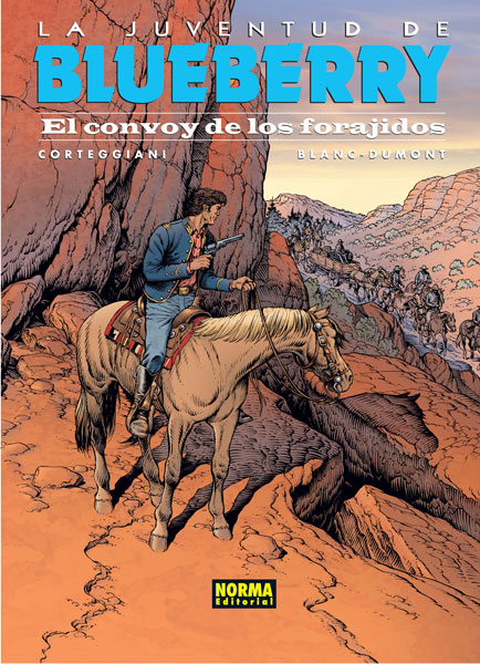 BLUEBERRY 54. EL CONVOY DE LOS FORAJIDOS