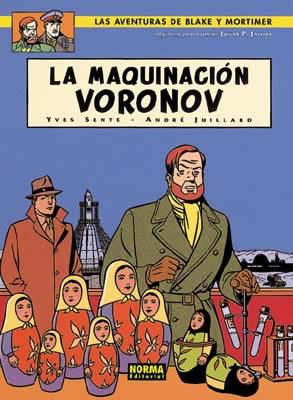 BLAKE Y MORTIMER 14. LA MAQUINACIÓN VORONOV