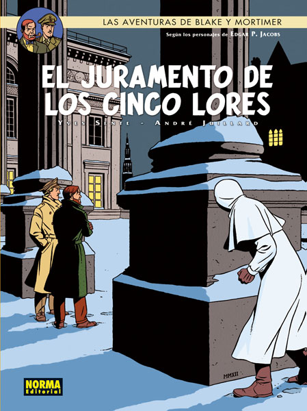 BLAKE Y MORTIMER 21. EL JURAMENTO DE LOS CINCO LORES