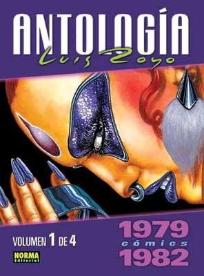 ANTOLOGÍA LUIS ROYO CÓMICS 1979-1982  VOLUMEN 1