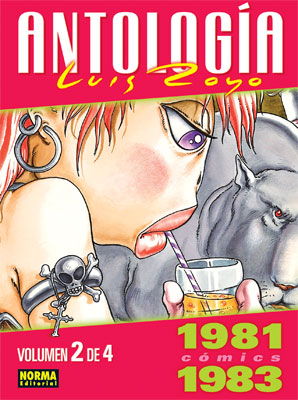 ANTOLOGÍA LUIS ROYO CÓMICS 1981-1983 VOLUMEN 2