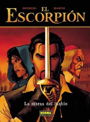 EL ESCORPIÓN 01: LA MARCA DEL DIABLO (CARTONÉ)
