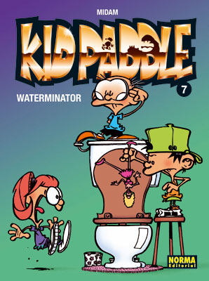 KID PADDLE 07. WATERMINATOR