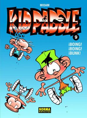 KID PADDLE 09. ¡BOING! ¡BOING! ¡BUNK!