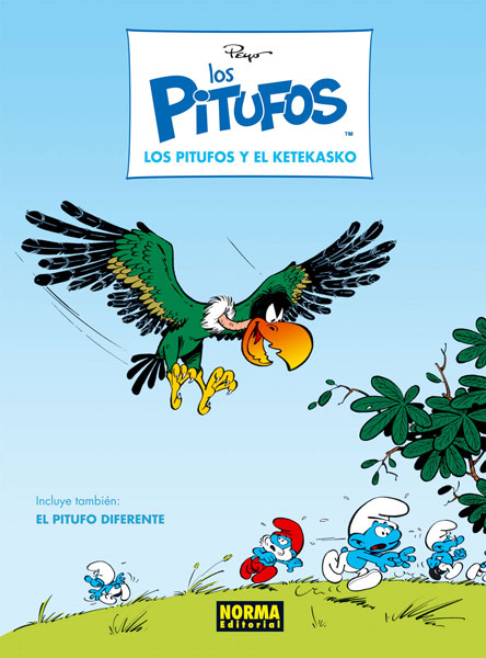 LOS PITUFOS 06. LOS PITUFOS Y EL KETEKASKO