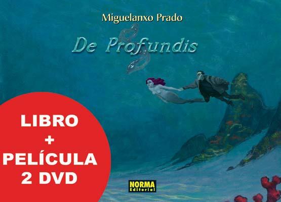 DE PROFUNDIS ED. COLECCIONISTA LIBRO + 2 DVD'S