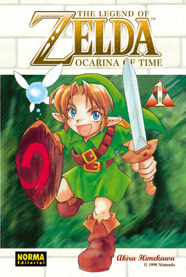 THE LEGEND OF ZELDA 01: OCARINA OF TIME 1
