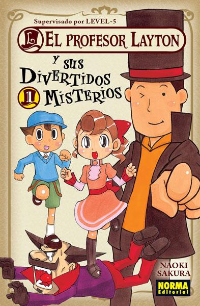 EL PROFESOR LAYTON Y SUS DIVERTIDOS MISTERIOS 01