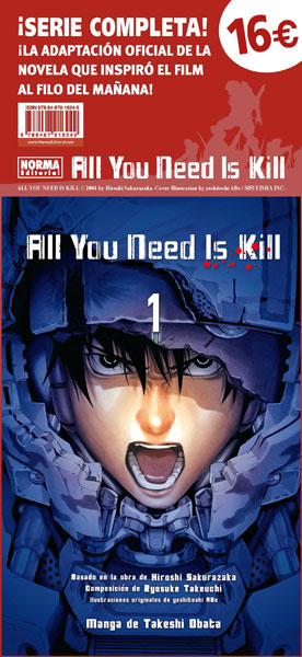 Pack ALL YOU NEED IS KILL: EL MANGA