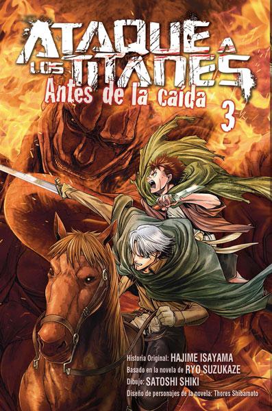 ATAQUE A LOS TITANES: ANTES DE LA CAÍDA 3