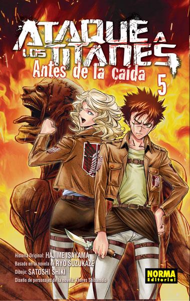 ATAQUE A LOS TITANES: ANTES DE LA CAÍDA 5