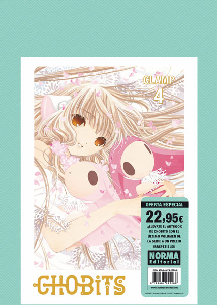 PACK ESPECIAL CHOBITS 4 + YOUR EYES ONLY
