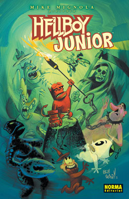 HELLBOY 08. HELLBOY JUNIOR (Ed. Cartoné)