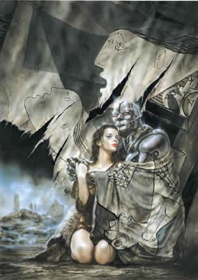 PÓSTER LUIS ROYO 10: PICASSO