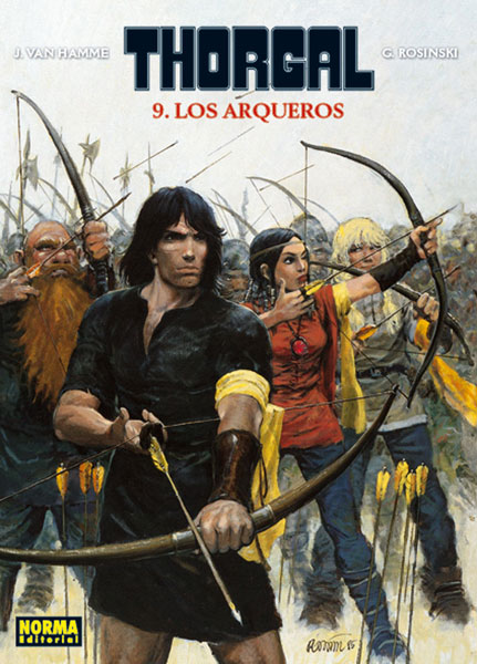 THORGAL 09. LOS ARQUEROS
