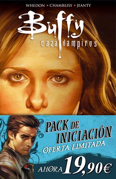 PACK INICIACIÓN BUFFY 9ª TEMPORADA 1 + ANGEL & FAITH 1