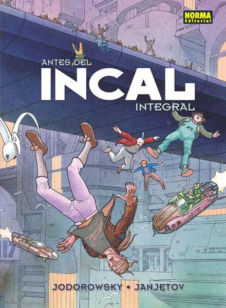 ANTES DEL INCAL. (Edición colores originales)