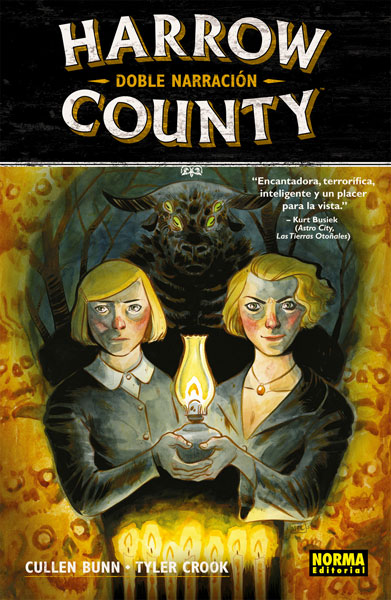 HARROW COUNTY 2. DOBLE NARRACIÓN