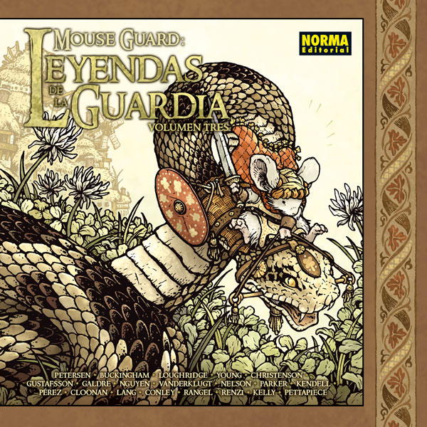 MOUSE GUARD: LEYENDAS DE LA GUARDIA 3