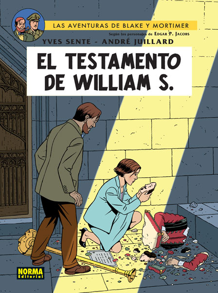 BLAKE Y MORTIMER 24.  EL TESTAMENTO DE WILLIAM S.