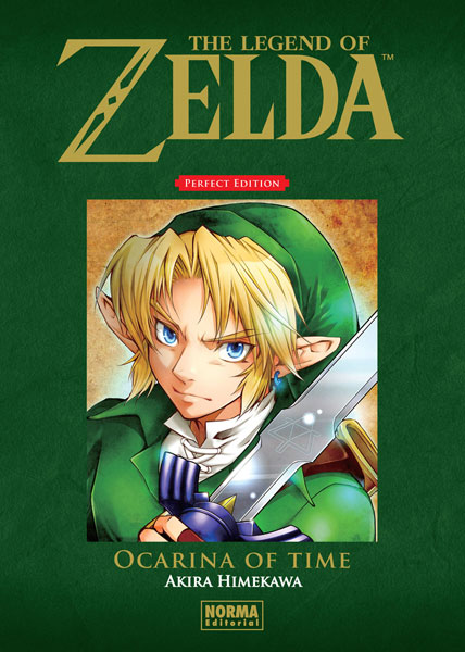 THE LEGEND OF ZELDA PERFECT EDITION 1: OCARINA OF TIME