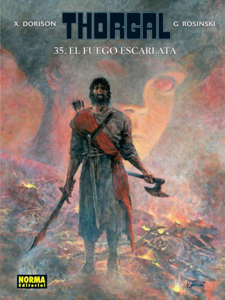 THORGAL 35. EL FUEGO ESCARLATA