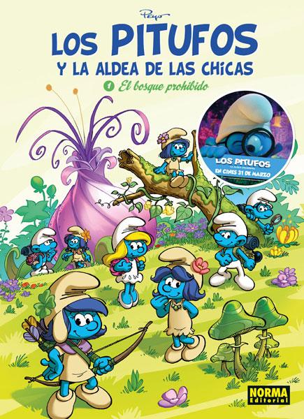 LOS PITUFOS Y LA ALDEA DE LAS CHICAS. 1. EL BOSQUE PROHIBIDO