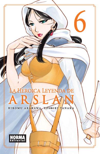 LA HEROICA LEYENDA DE ARSLAN 6