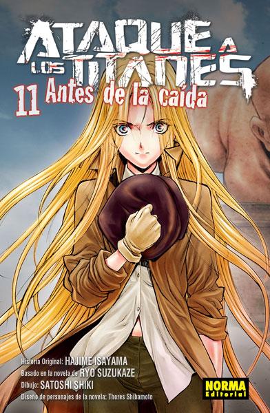 ATAQUE A LOS TITANES: ANTES DE LA CAÍDA 11