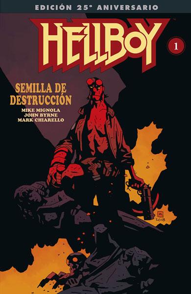HELLBOY: SEMILLA DE DESTRUCCIÓN (EDICIÓN GIGANTE ESPECIAL 25 ANIVERSARIO)