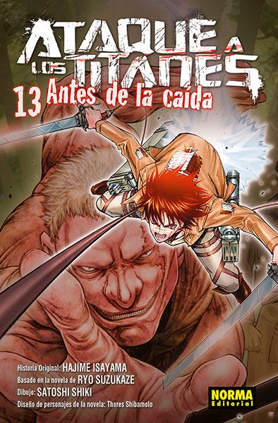 ATAQUE A LOS TITANES ANTES DE LA CAÍDA 13