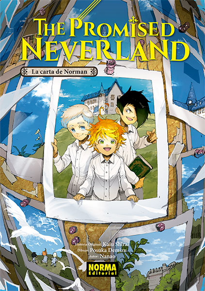 THE PROMISED NEVERLAND: LA CARTA DE NORMAN