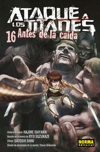 ATAQUE A LOS TITANES: ANTES DE LA CAÍDA 16