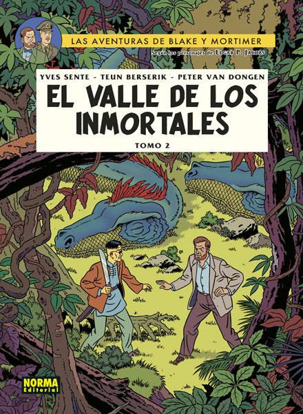 BLAKE Y MORTIMER 26. EL VALLE DE LOS INMORTALES. TOMO 2