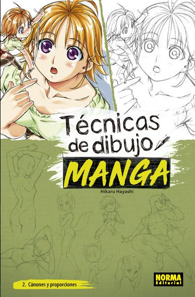 TÉCNICAS DE DIBUJO MANGA 2. CÁNONES Y PROPORCIONES