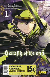 PACK DE INICIACIÓN SERAPH OF THE END