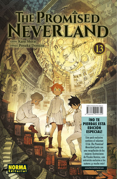 THE PROMISED NEVERLAND 13 (EDICIÓN ESPECIAL)