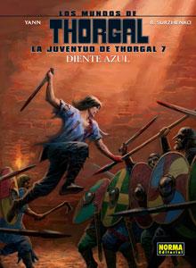 LA JUVENTUD DE THORGAL 7. DIENTE AZUL