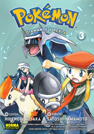 POKÉMON 19. DIAMANTE Y PERLA 3