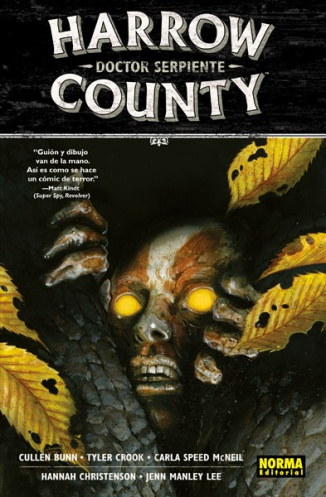 HARROW COUNTY 3. DOCTOR SERPIENTE