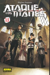 ATAQUE TITANES 13