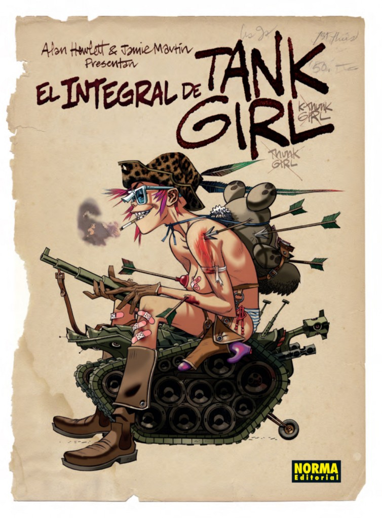 TANK GIRL low copia