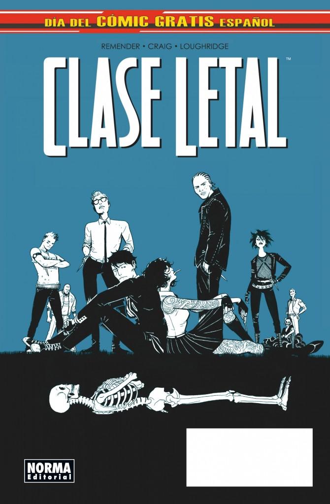 Clase_letal_comic gratis cover