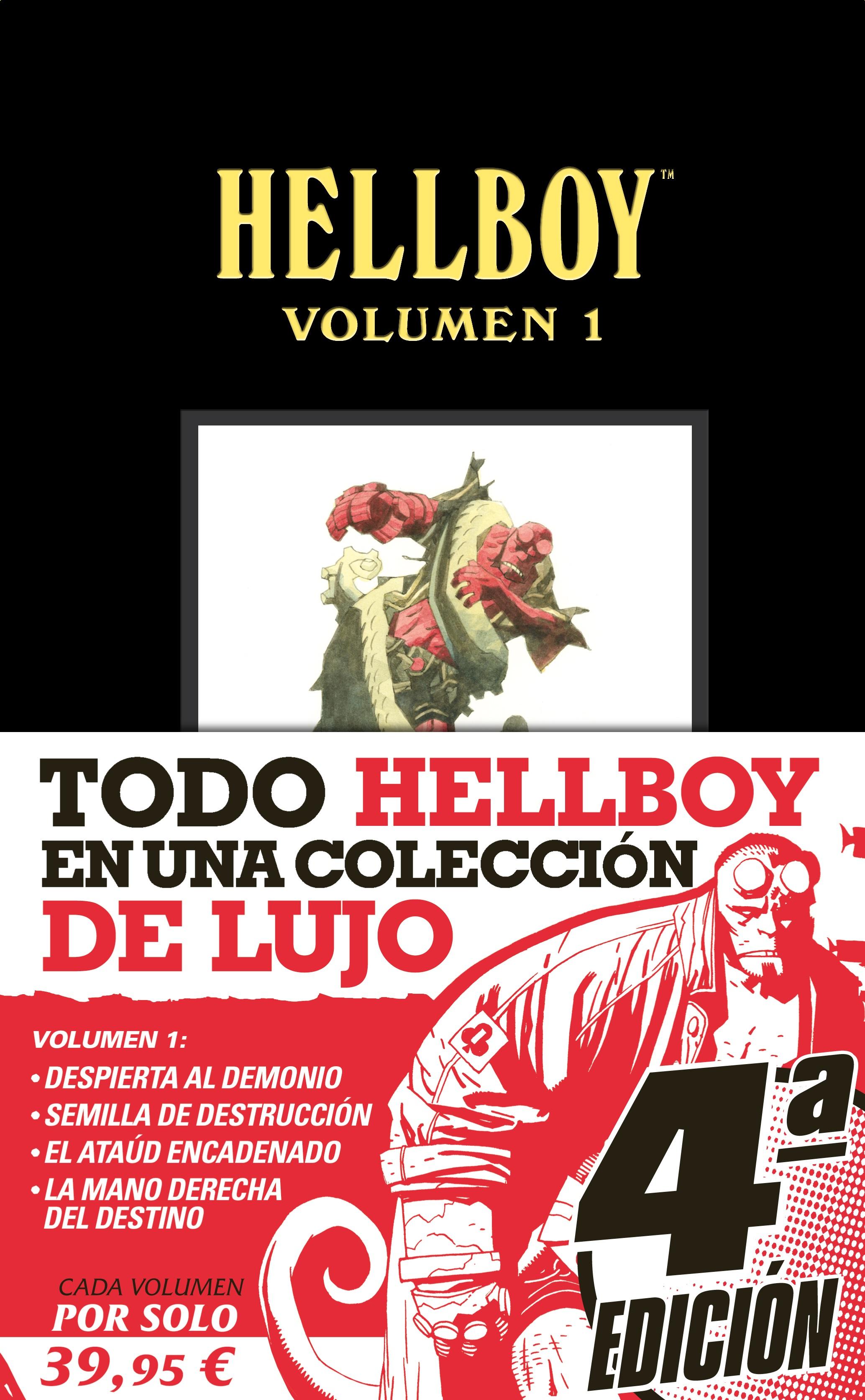 COVER HELLBOY VOLUMEN 01 4aed CON FAJA