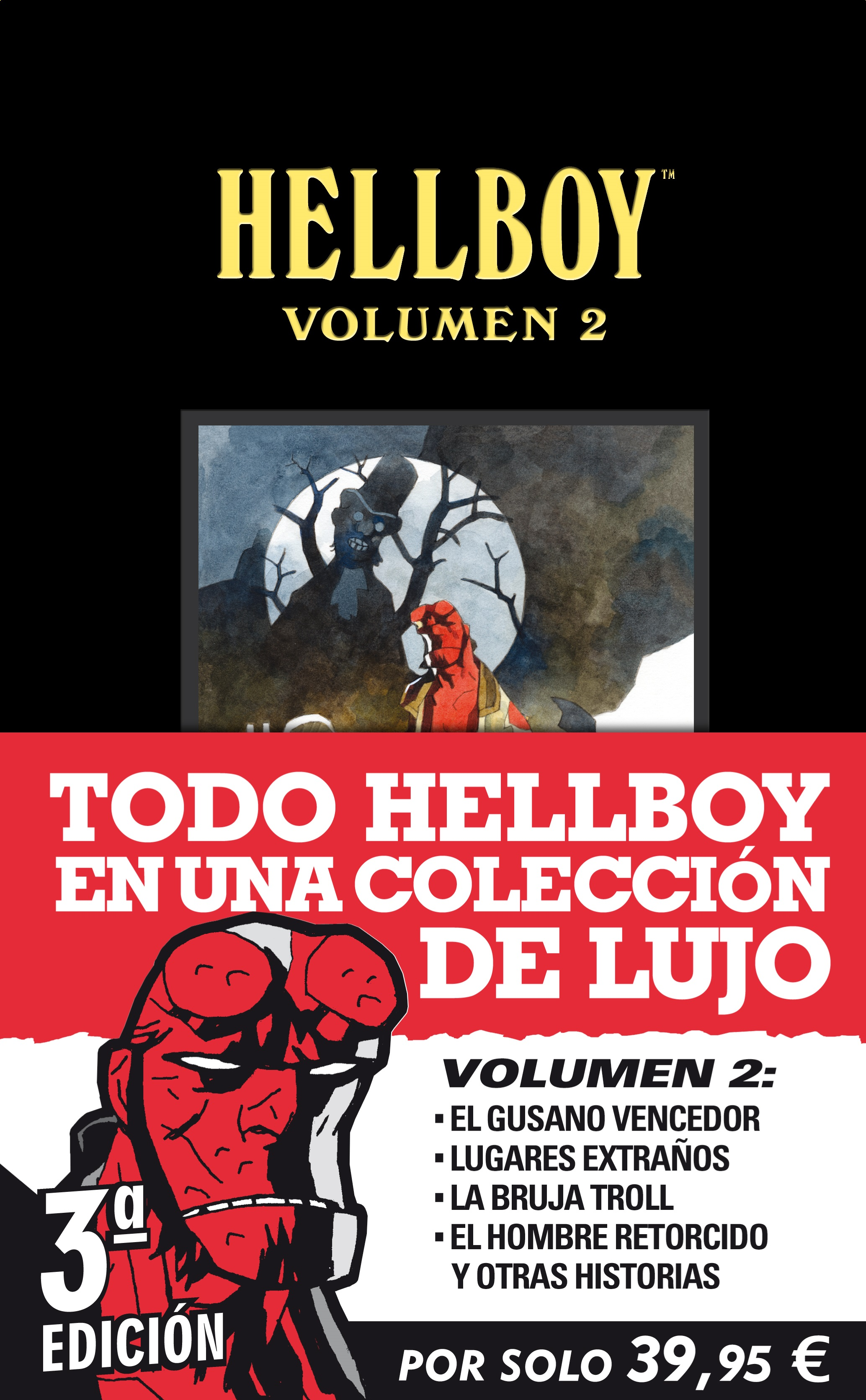 COVER HELLBOY VOLUMEN 02 3aed CON FAJA