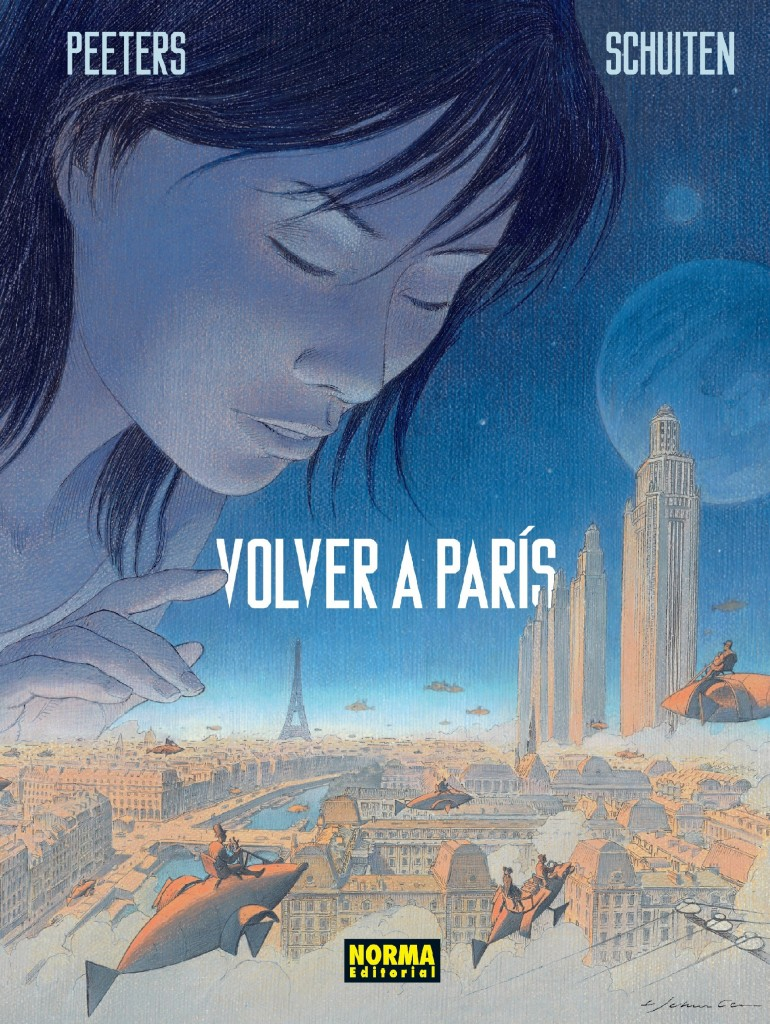 FORRO CARTONE VOLVER A PARIS