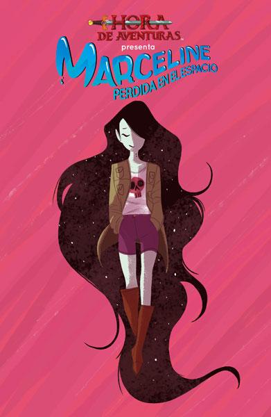 Marceline perdida en el espacio