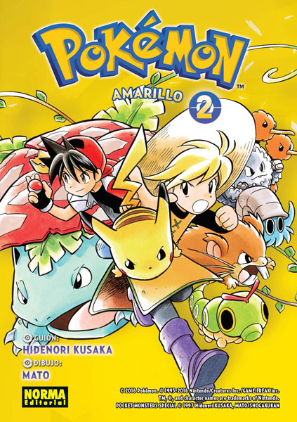 Pokemon Amarillo 2